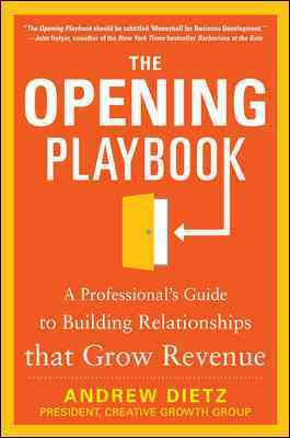 The Opening Playbook By Dietz, Andrew